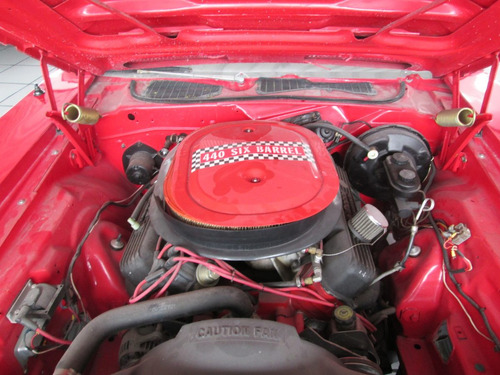 plymouth cuda 440 six pack 1972 rojo