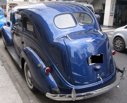 plymouth limousine de luxe 1938 impecable!