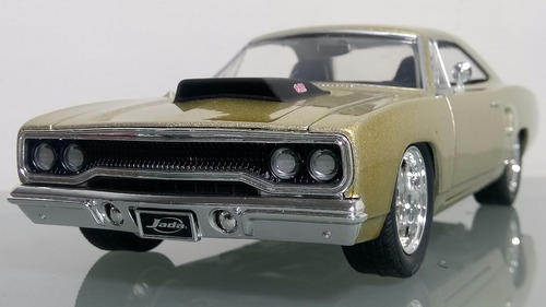plymouth road runner 1970 escala 1:24 marca jada toys