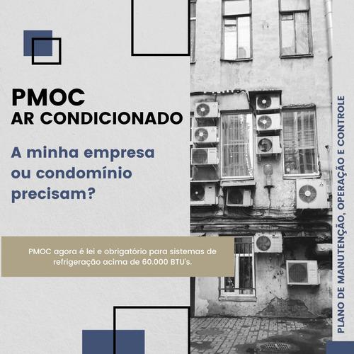 pmoc plano de manutenção operação e controle ar condicionado