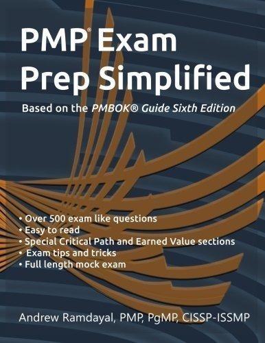 pmp exam prep simplified: basado en la sexta edición de la