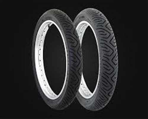 pneu 100/90-18 technic traseiro c/camara sport moto strada
