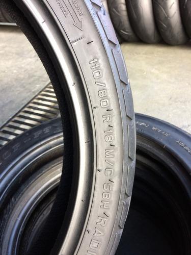 pneu 110/80/18 pirelli mt60rs usado bom cg strada