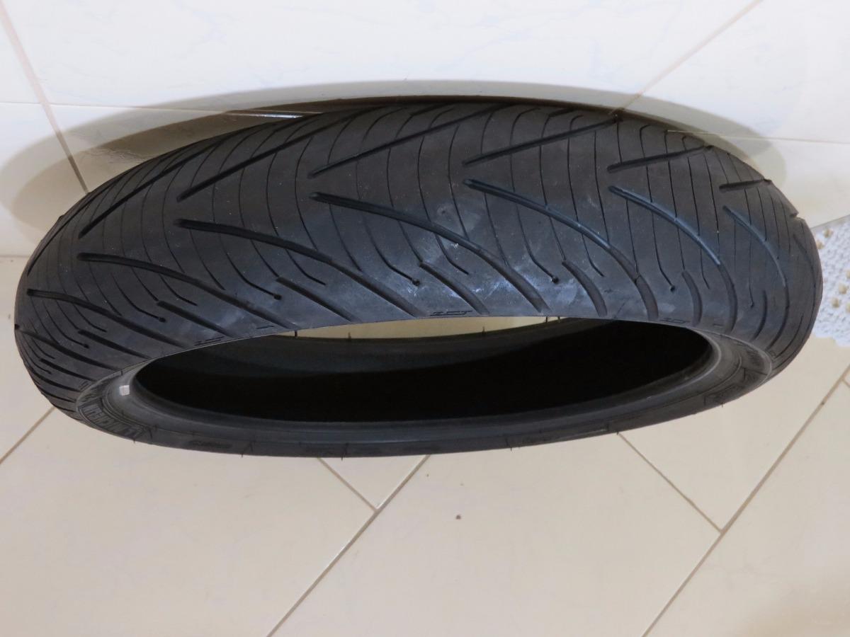 pneu 120 70 17 michelin pr3 bandit xj6 hornet cbr600 r1 r6 r 150 00 em mercado livre. Black Bedroom Furniture Sets. Home Design Ideas