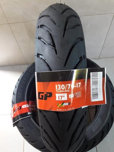 pneu 130/70-17 ira masked gp traseiro twister fazer cb 300