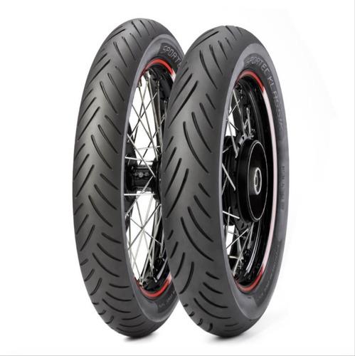 pneu 130/70-17 traseiro cbx250/ fazer 250 metzeler sportec k