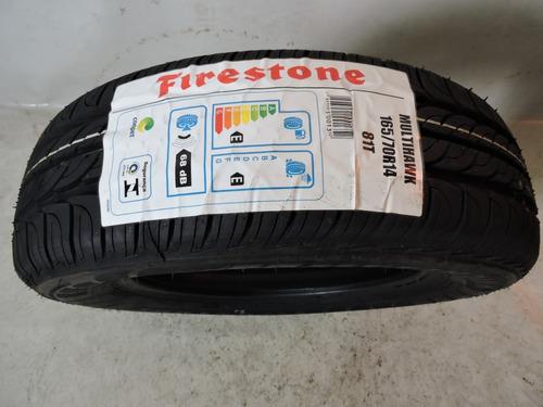 pneu 165/70 r14 firestone multihawk 81t top linha promoção