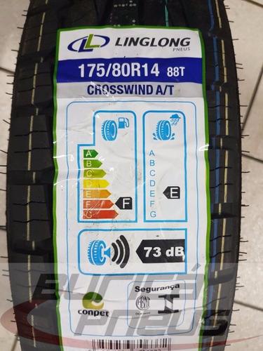 pneu 175/80 r14 crosswind a/t linglong - parcelado s/ juros