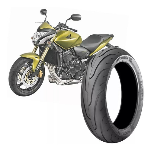 pneu 180/55-17 technic stroker traseiro cb 600f cbr 600 rr