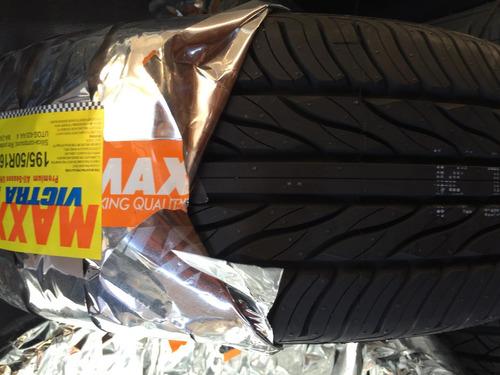 pneu 195/50/16 maxxis victra + nf-e + frete grátis ( novo )