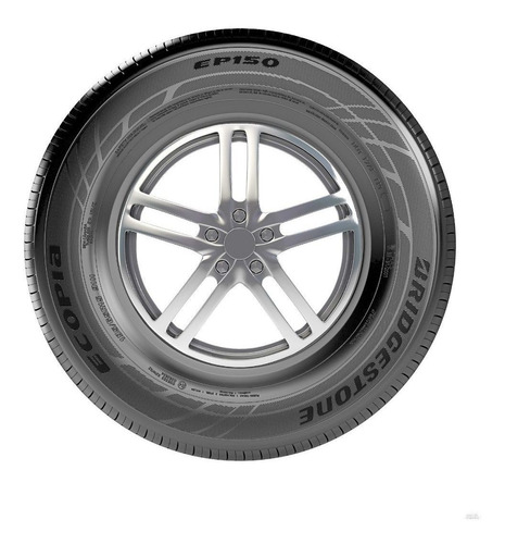 pneu 195/55 r15 bridgestone ecopia ep150 - kit 2 unidades