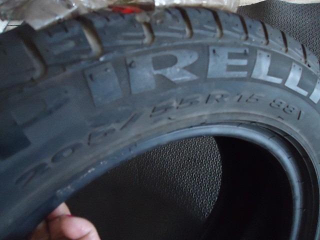 pneu 205 55 15 pirelli p7 usado meia vida r 90 00 em mercado livre. Black Bedroom Furniture Sets. Home Design Ideas