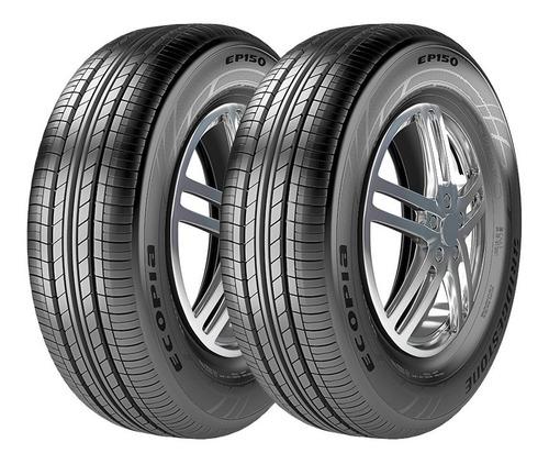 pneu 205/55 r16 bridgestone ecopia ep150 kit 2 unidades