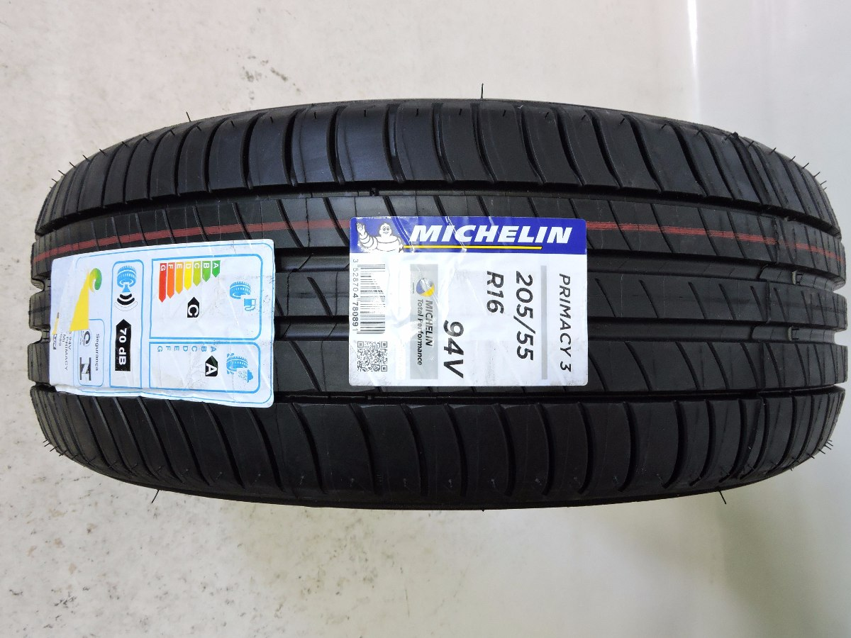 Pneu 205 55 R16 Michelin Primacy3 94v Corolla Civic Golf