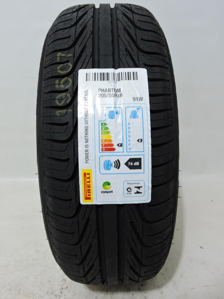 pneu 205 55 16 pirelli phantom 91w civic corolla golf focus r 334 00 em mercado livre. Black Bedroom Furniture Sets. Home Design Ideas