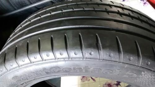 pneu 205/55r16 91v continental sportcontact 2 (meia vida)