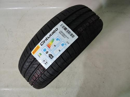 pneu 205/55r17 pirelli cinturato p7 fluence original novo
