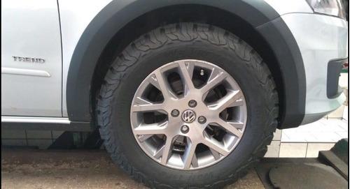 pneu 205/60/15 remold desenho bf goodrich ko2 wt terra