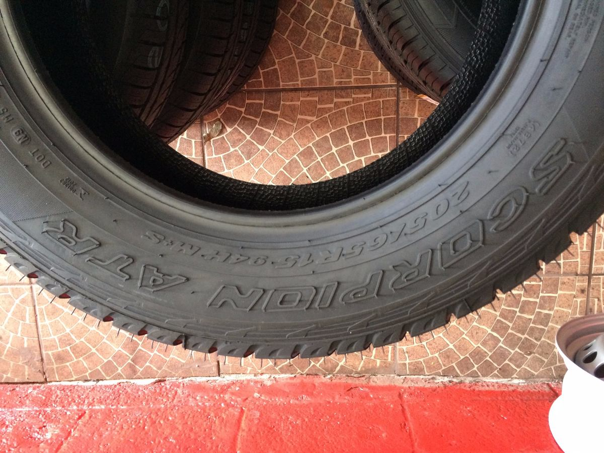 pneu 205 65 r15 pirelli scorpion atr original ecosport r 536 00 em mercado livre. Black Bedroom Furniture Sets. Home Design Ideas