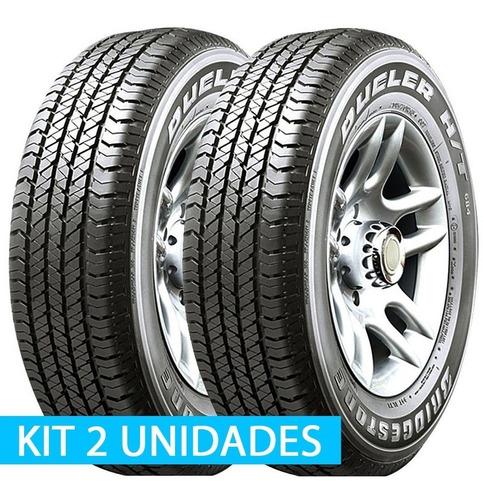 pneu 225/55 r18 bridgestone dueler ht 684ii kit 2 unidades