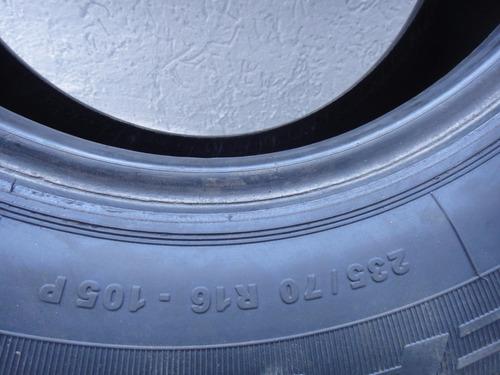 pneu 235 70 r16 remold p/ camionete s-10  ranger julypneus
