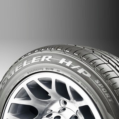pneu 235/55r17 bridgestone dueler hp sport 99v - tiguan