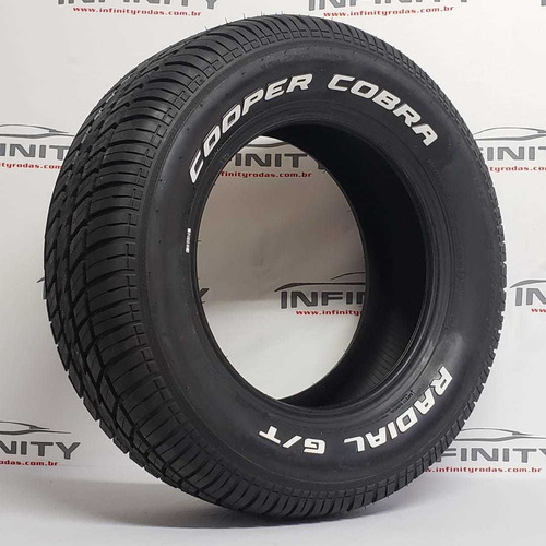 pneu 235/60 r15 cooper cobra radial g/t letra branca opala
