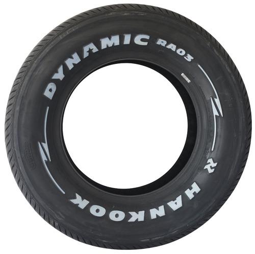 pneu 235/60/14 hankook dynamic ra03 letra branca p/ opala