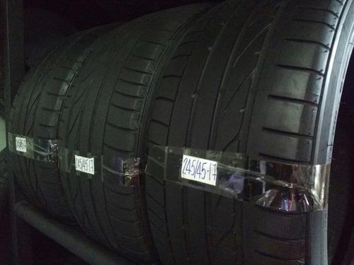 pneu 245/45r17 95y bridgestone potenza re050a (meia vida)