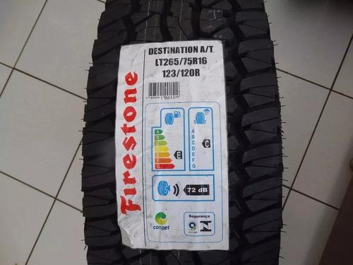 pneu 265/75r16 firestone destination a/t - 123/120r