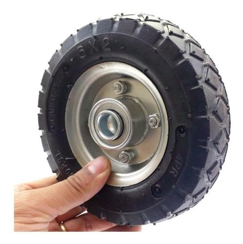 pneu 6x2 com câmera de ar 4 lonas speed aro carga150kg