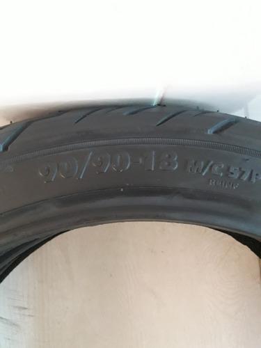 pneu 90/90-18 traseiro titan 125/150 fan 125/150 city bravo