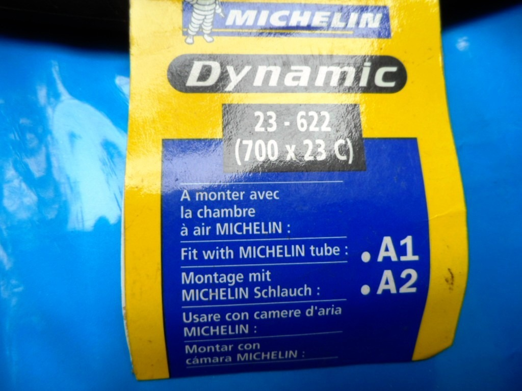 Pneu Bike 23-622 700x23c Michelin Dynamic Sdoriginal Novo - R ... Chambre Air X C on
