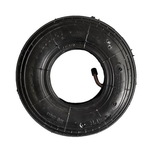pneu + camara 200 x 50 x 8 para cadeira de rodas motorizada