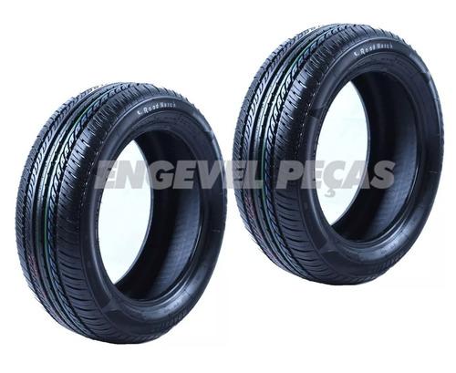 pneu carro 185/55/14 roadstar 80h roadmarch | 2 unidades