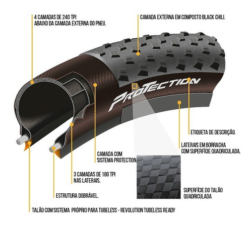 pneu continental cross king 29x2.2 protection tubeless 2.2
