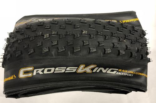 pneu continental cross king 29x2.2 race sport black chilli