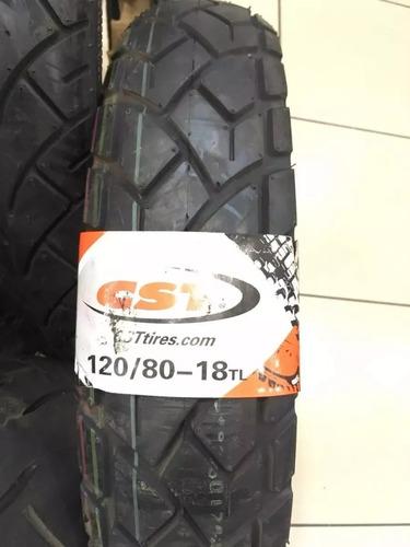pneu cst 120/80-18 traseiro yamaha tenere 250 honda xre 300