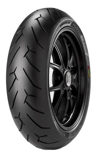 pneu de moto pirelli 140/70r17 diablo rosso ii 66h traseiro