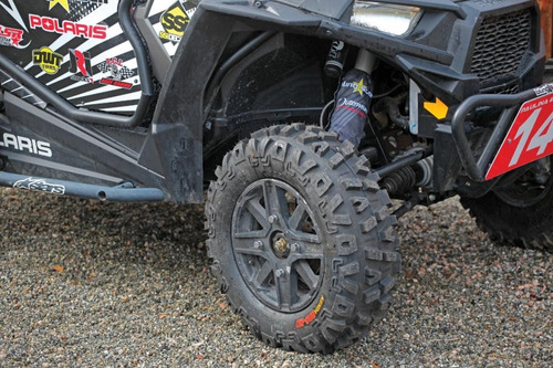 pneu dianteiro 27x9x12 utv can am kenda k585 bounty hunter