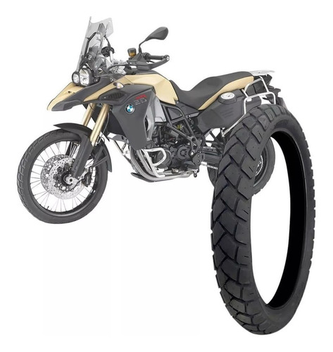 pneu dianteiro 90/90-21 bmw f800 gs tiger 800 technic trail