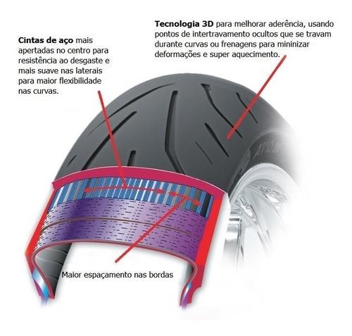 pneu dianteiro avon storm 3d 120/70-17 cbr600rr cbr 600rr