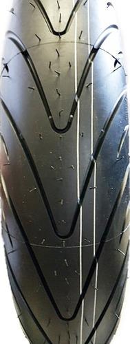 pneu dianteiro michelin 120/70-17 pilot road 2 hornet cbr *