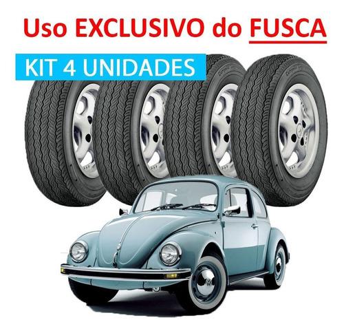 pneu firestone 560x15 campeao supremo fusca  kit 4 unidades