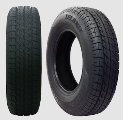 pneu kombi 185 r 14 frete grátis - technic - novo - ñ remold