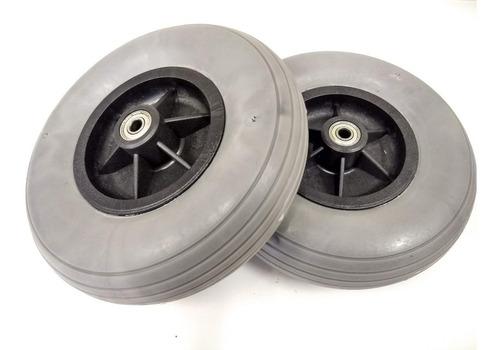 pneu maciço dianteiro 200x50 para cadeiras rodas motorizada