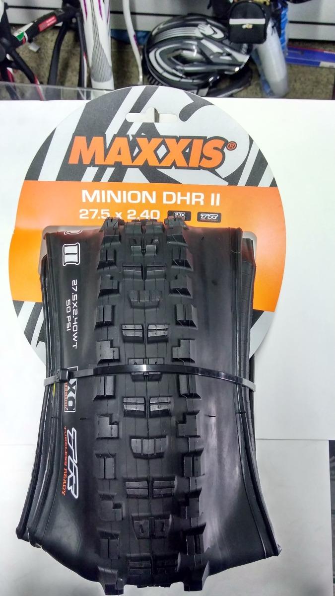 NEW Maxxis Minion DHR II 3C//EXO//TR 26x2.4 tubeless Mountain tire