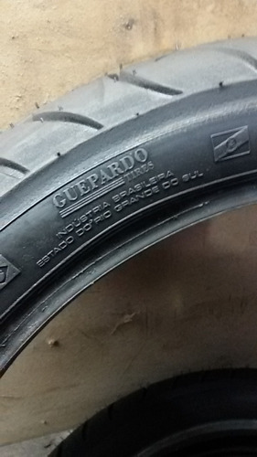 pneu moto 130/70-17  twister-  alta performaçe - remold