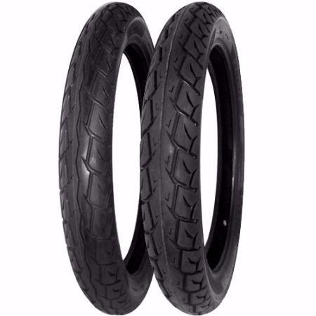 pneu moto cg 125/150 levorin aro 18 par dianteiro e traseiro