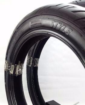 pneu moto cinborg strada style traseiro 100/90/18  80/100/18